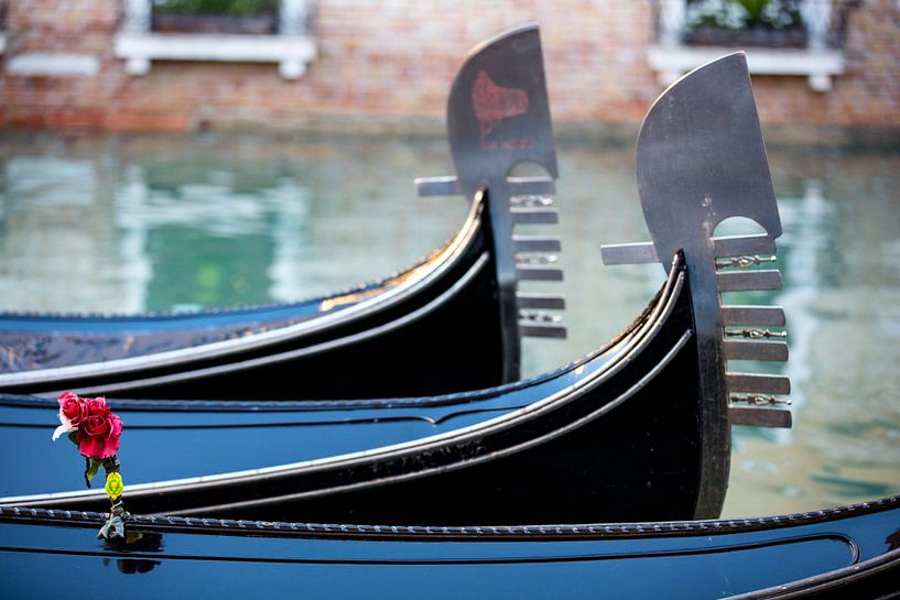 Gondeln in Venedig von Andreas Müller