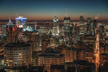 Skyline Montreal van Reinier Snijders