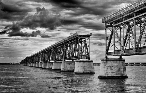 Florida Keys the Old 7 Mile Bridge