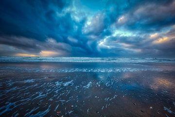 Nordsee bei Sturm von eric van der eijk