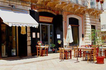 Italiaans restaurant met terrasje van Inge Hogenbijl