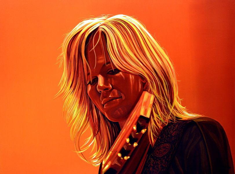 Ilse DeLange schilderij