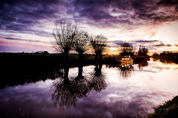 Berkmeerdijk, Westfriesland von Lindy Schenk-Smit