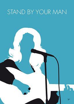 No275 MY Tammy Wynette Minimal Music poster van