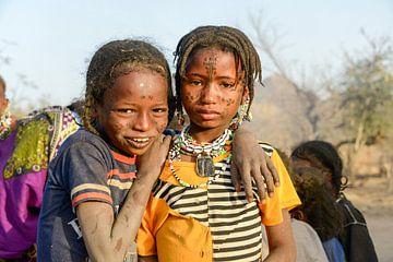 Fulani Bororo im südlichen Tschad von Maarten van de Biezen