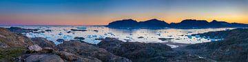Eisschollen-Panorama von Wilco & Casper