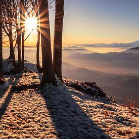 Vista Luganese - Ticino - Zwitserland van Felina Photography