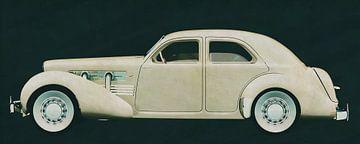 Cord 812 Limousine 1936 von Jan Keteleer