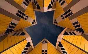 Kubus woningen in Rotterdam