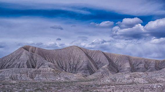 Bergketen in de woestijn, Colorado van Rietje Bulthuis