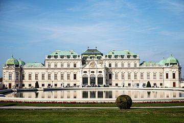 Reflet de l'écluse Belvédère, Vienne sur Marcia Kirkels