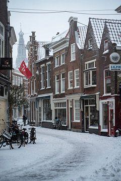De winter er eindelijk ook in Haarlem aangekomen van Manuuu S
