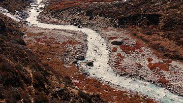 Bergstroom in de Himalaya