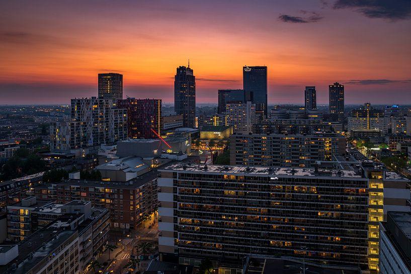 Het stadscentrum van Rotterdam van MS Fotografie | Marc van der Stelt