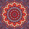 Mandala Abendsonne von Marion Tenbergen Miniaturansicht