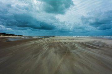 Vlieland beach storm von Danny Leij