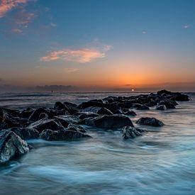 Texel post 30 Phare de la jetée longue exposition 3e sur Texel360Fotografie Richard Heerschap