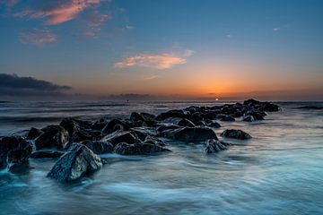 Texel post 30 Langzeitbelichtung Pier Leuchtturm 3e von Texel360Fotografie Richard Heerschap