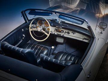 Mercedes 19 SL 1958 sur Paul Delaet