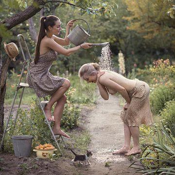 Frischer Sommer Dusche, David Dubnitskiy von 1x