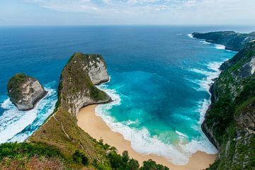 Paradijs Nusa Penida Kelingking Beach van Ellis Peeters