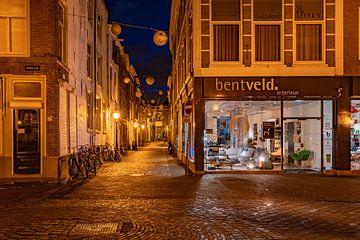 Leiden in Lockdown: Burgsteeg van Carla Matthee