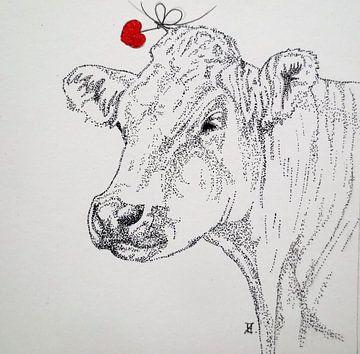 HeartFlow Koe 2 von Helma van der Zwan