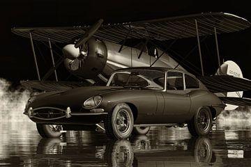 Jaguar E-type de eerste Britse sportwagen