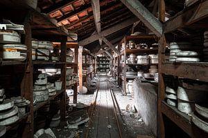 Verlaten Keramiek Fabriek.
