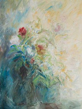 Impressionistische bloemen van Paul