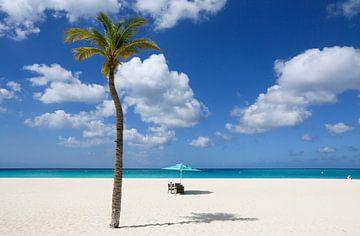 Eagle Beach op Aruba