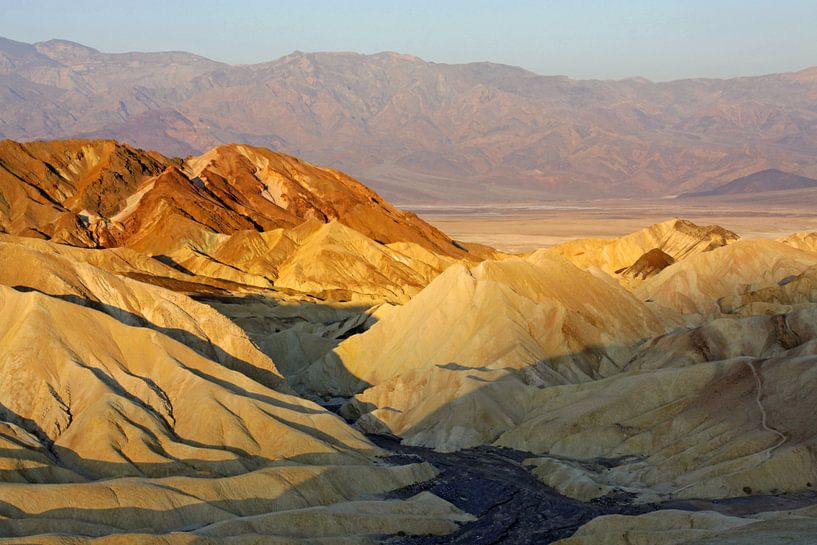 Zabriskie Point, Death Valley van Antwan Janssen