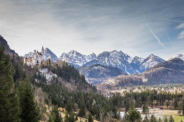 Blick auf das Märchenschloss von Jürgen Schmittdiel Photography