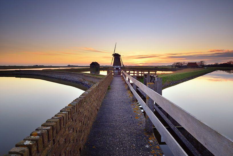 Molen het Noorden Texel van John Leeninga