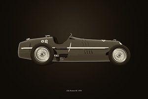 Alfa Romeo 8C 1935 B&W