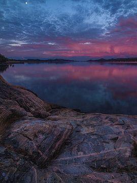 Blaue Stunde in Kristiansand von Thomas Weber