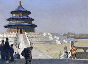 Der Himmelstempel in Peking, ERICH KIPS, Ca. 1928 von Atelier Liesjes