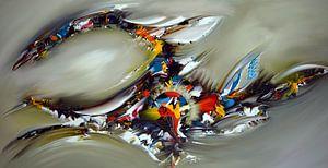 Abstrakter Kristall