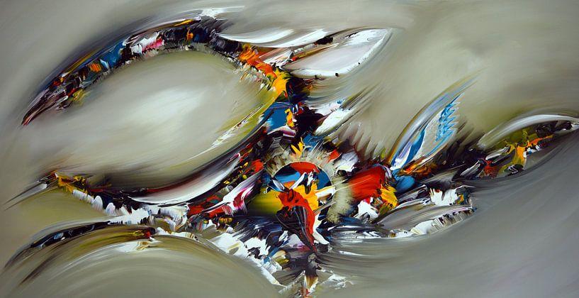 Abstrakter Kristall von Gena Theheartofart
