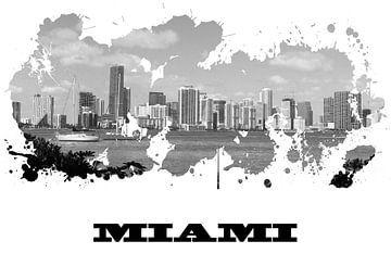 Miami van Printed Artings