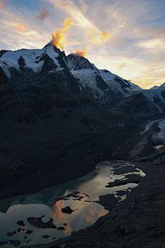 Der Großglockner bei Sonnenuntergang von Christian Peters