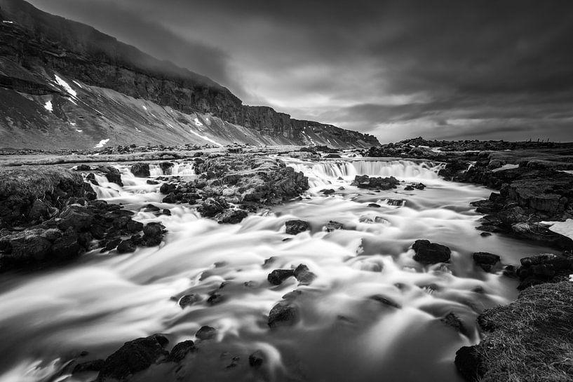 Fossalar, de kleine onbekende IJslandse waterval ZW van Gerry van Roosmalen