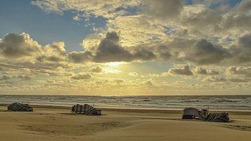 Zandvoort par la mer