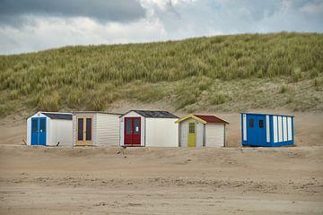Strandhuisjes von Ad Jekel