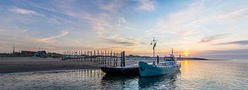Waddenveer De Vriendschap Steiger van Sil Texel van Texel360Fotografie Richard Heerschap