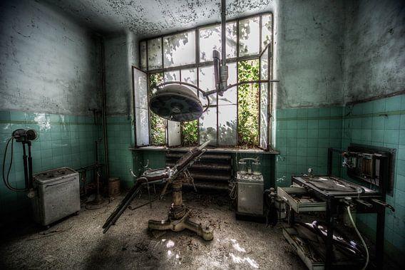 oud sanatorium in italie verlaten zieknhuis gedeelte