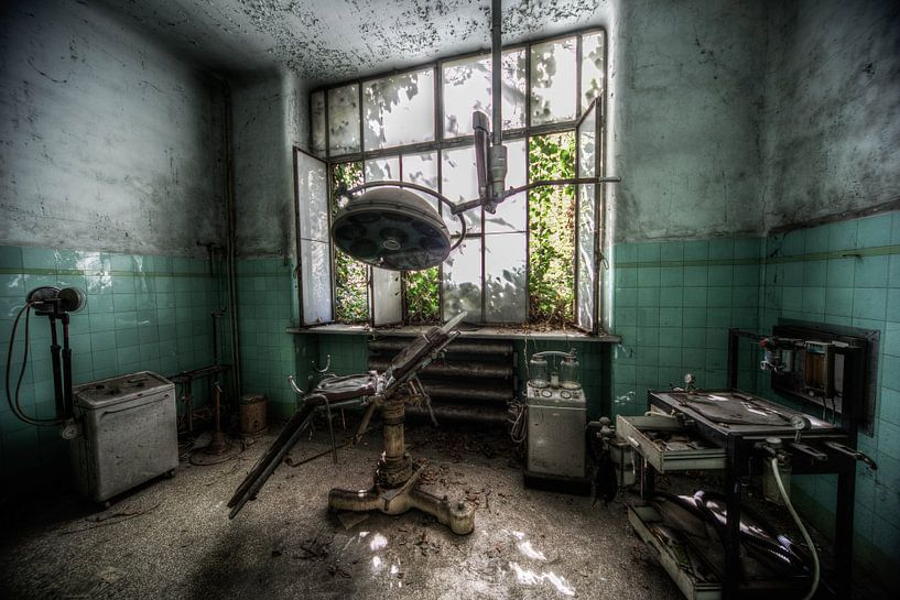 oud sanatorium in italie verlaten zieknhuis gedeelte van michel van bijsterveld