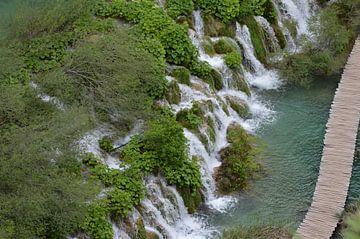 Plitvice watervallen von Eveline Vermeulen
