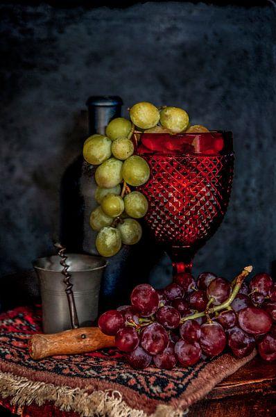 Stilleven druiven van zippora wiese
