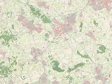 Kaart van Meierijstad
